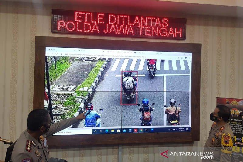 Polda Jateng pasang kamera pengawas  tilang elektronik di 26 titik
