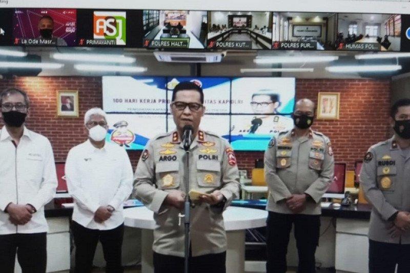 "LKBN ANTARA - Divhumas  Polri gelar pelatihan ""public speaking"""
