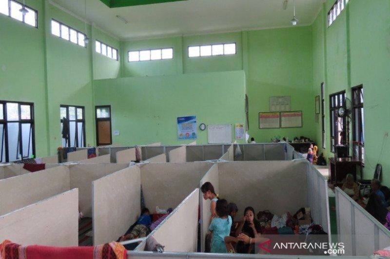 Pekalongan sekat tempat pengungsian untuk antisipasi COVID-19