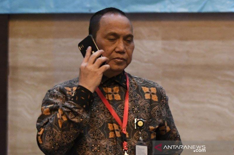 Presiden Jokowi melantik Indriyanto Seno Adji sebagai Dewas KPK