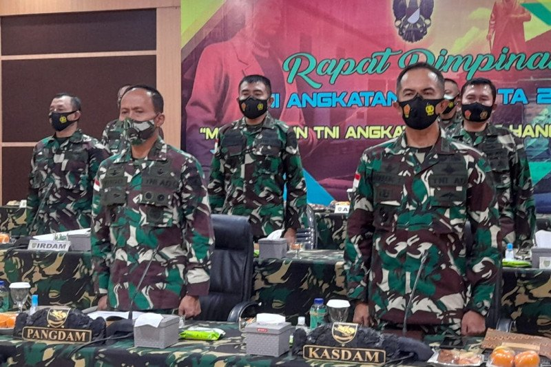 Pangdam XVII/Cenderawasih ikuti rapim TNI AD secara virtual