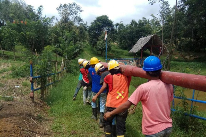 Upaya PLN Sumbar tingkatkan rasio elektrifikasi dan rasio listrik desa