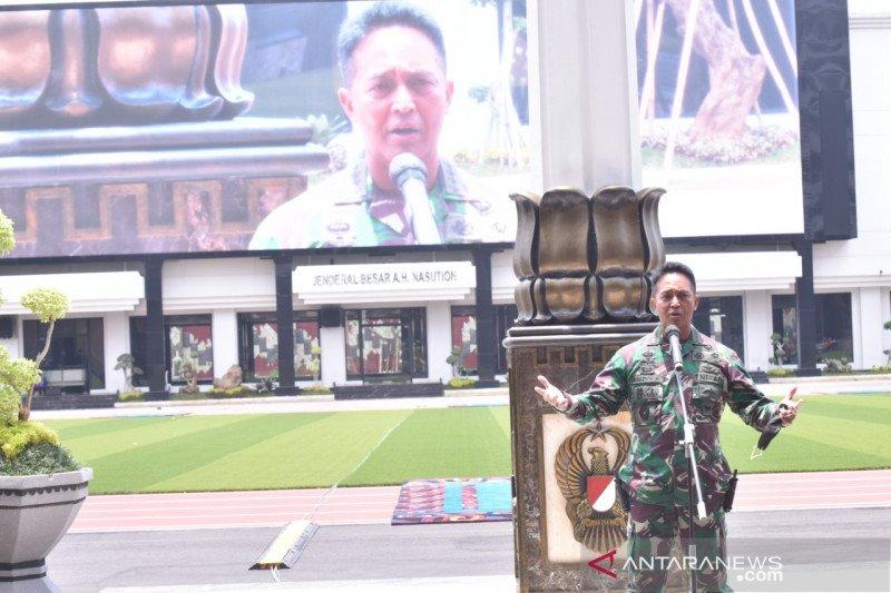 TNI AD gelar Rapim Tahun 2021 diikuti 264 pejabat