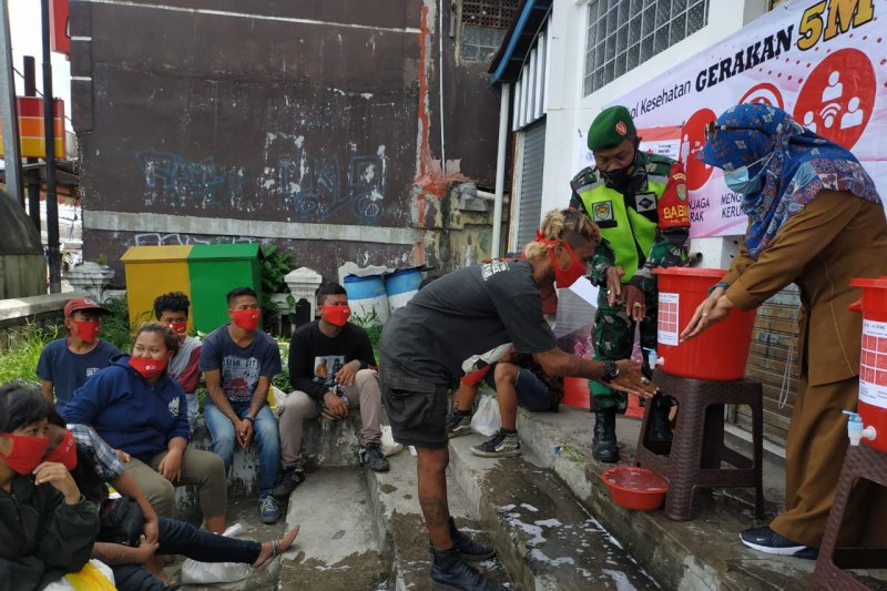 PMI Sukabumi gandeng komunitas Punk kampanye pencegahan COVID-19
