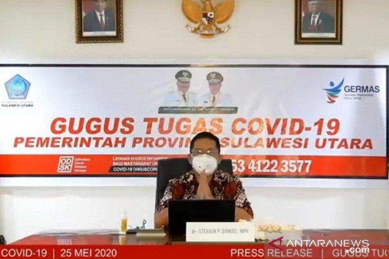 Angka kesembuhan COVID-19 di Sulut meningkat capai 77,85 persen