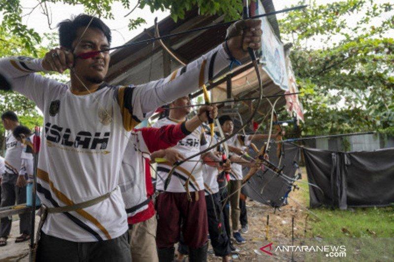 Latihan rutin panahan digelar kembali di Palu