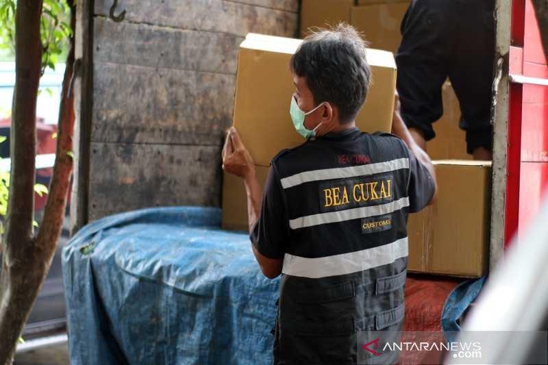 Bea Cukai Surakarta amankan 1,6 juta batang rokok ilegal asal Jawa Timur