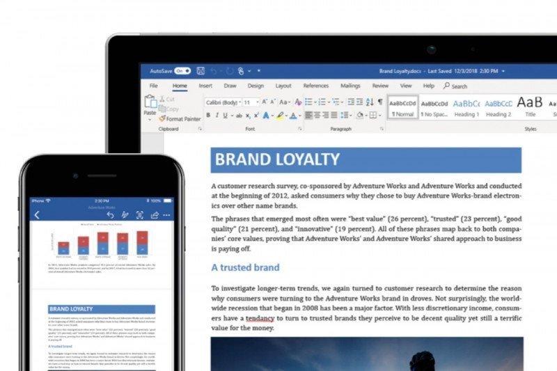 Microsoft Word berencana tambahkan fitur prediksi teks