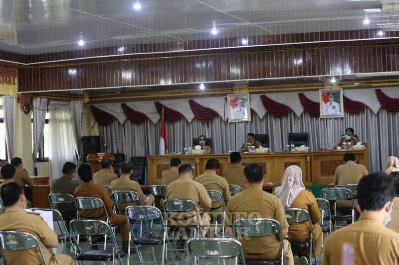 Sekda Lampung Barat gelar coffe morning bahas penanganan COVID-19