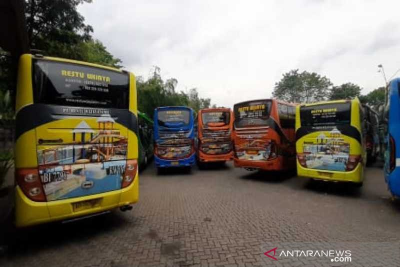 17 bus PO Restu Wijaya di Boyolali disita, terkait kasus Asabri