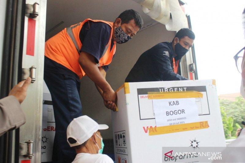 Pemkab Bogor terima 7.730 vaksin COVID-19 tahap dua