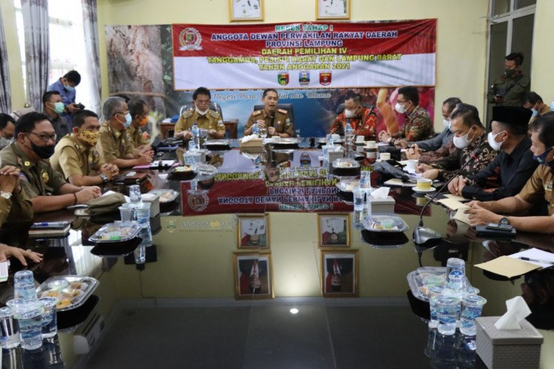 Pemkab Pesisir Barat terima kunjungan reses anggota DPRD Lampug