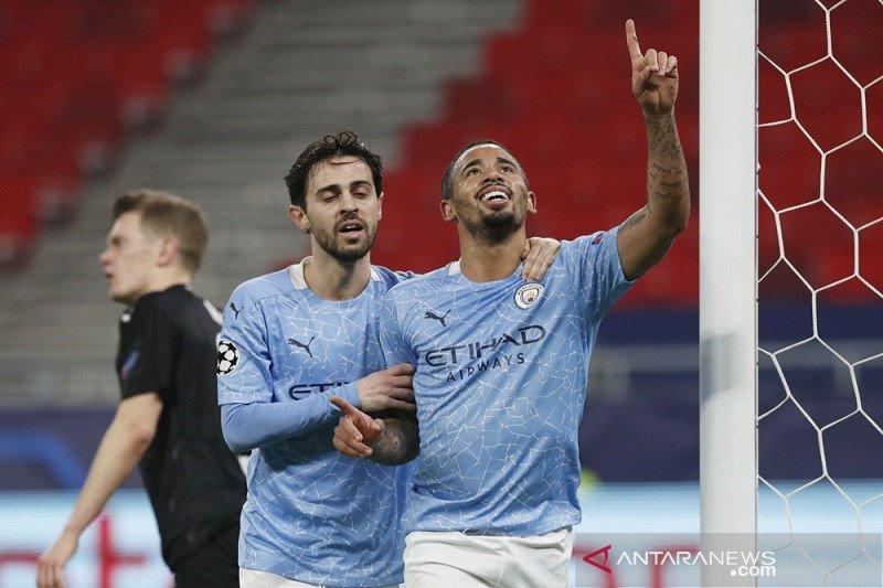 Manchester City menang meyakinkan  atas Gladbach