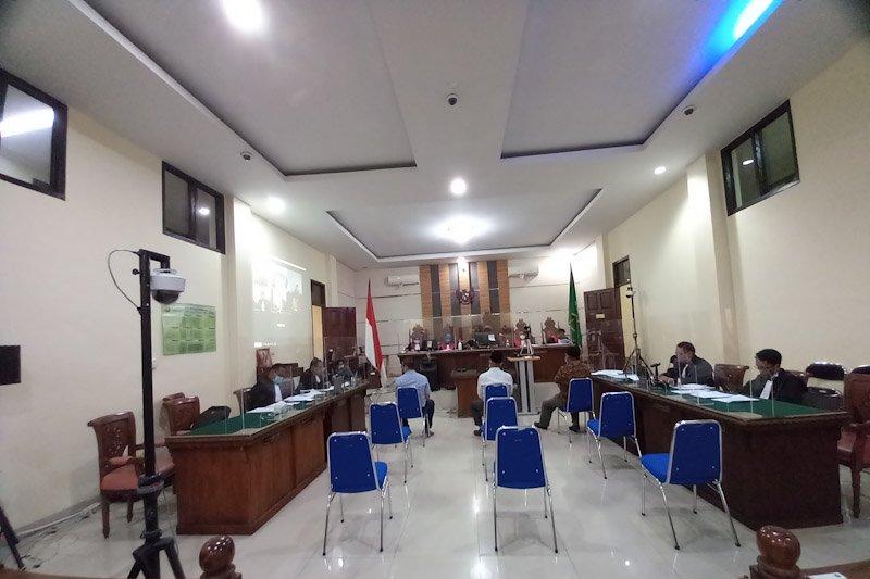 Politisi NasDem beri keterangan sebagai saksi pada sidang mantan Bupati Lampung Tengah