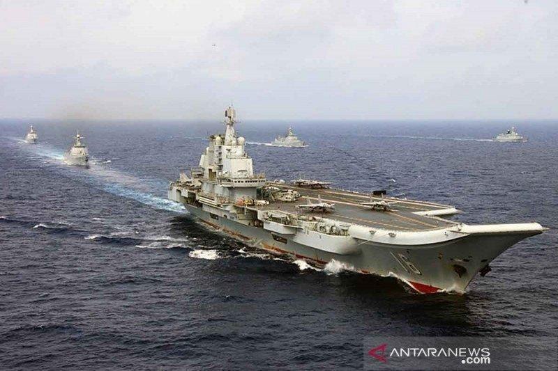 China secara rutin gelar latihan perang di dekat Taiwan