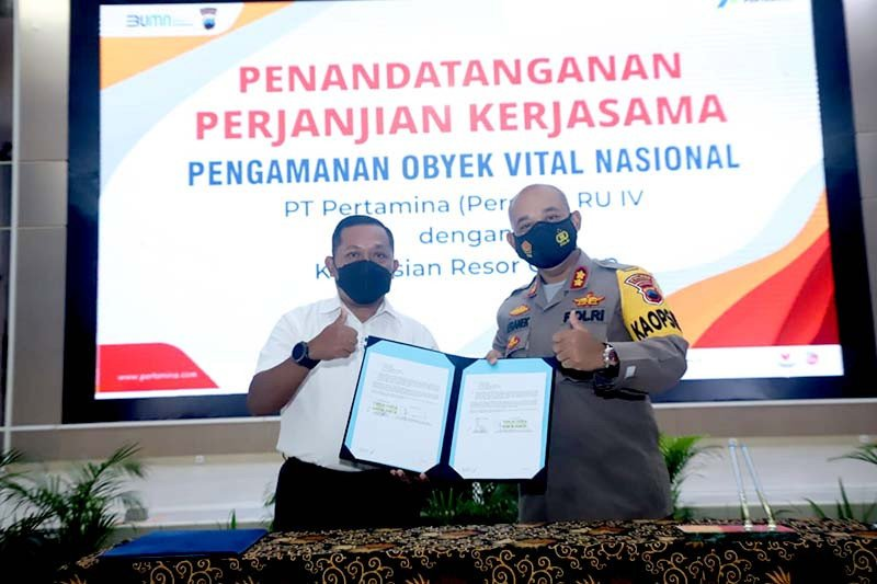 Amankan objek vital nasional, Pertamina Cilacap perpanjang kerja sama dengan TNI/Polri