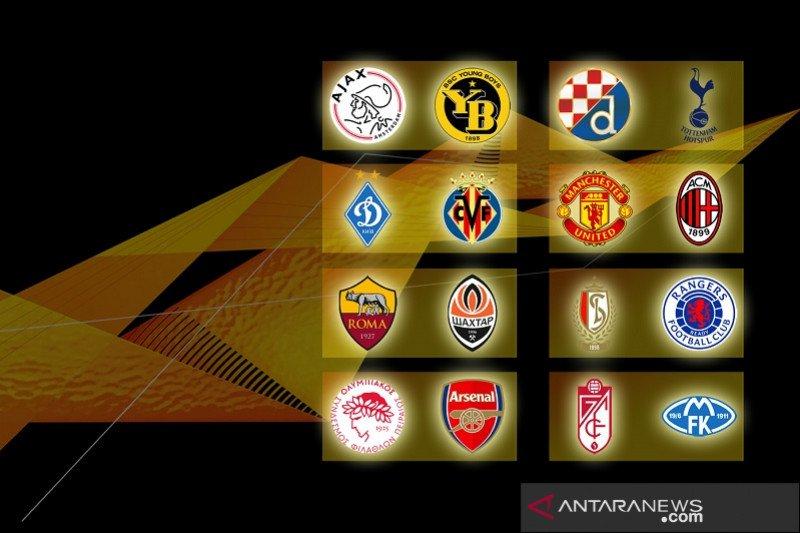 Hasil undian babak 16 besar Liga Europa