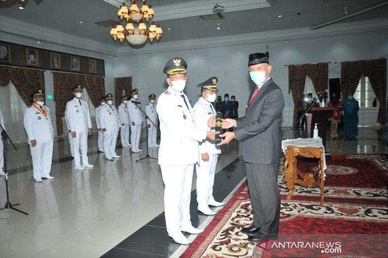 Rusma Yul Anwar dan Rudi Hariyansyah resmi jabat Bupati dan Wakil Bupati Pesisir Selatan