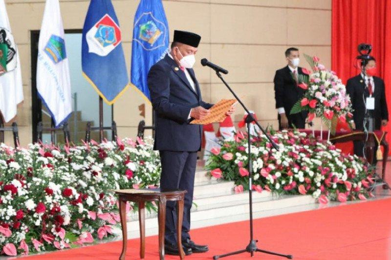 Gubernur Sulut lantik lima kepala daerah menang pilkada serentak