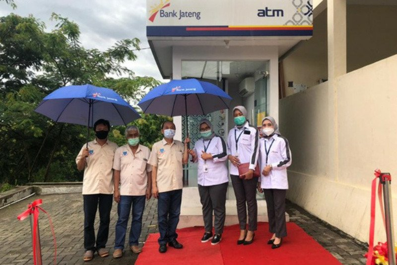 Bank Jateng resmikan tiga ATM di Kabupaten Wonogiri