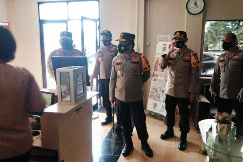 Kapolda Sulut ajak Personel Polres Bitung berikan pelayanan terbaik bagi masyarakat