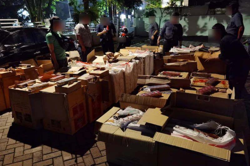 49 penyelundupan rokok ilegal digagalkan Bea Cukai Jateng-DIY