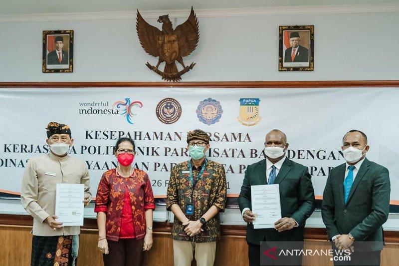 Poltekpar Bali-Disbudpar Papua kerja sama siapkan SDM unggul Papua