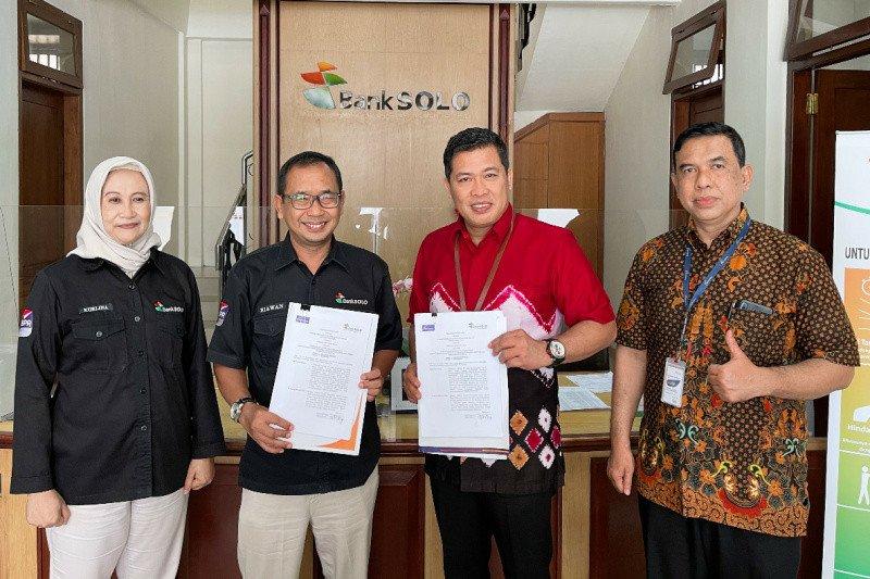 Bank Jateng Surakarta jalin kerja sama dengan Bank Solo