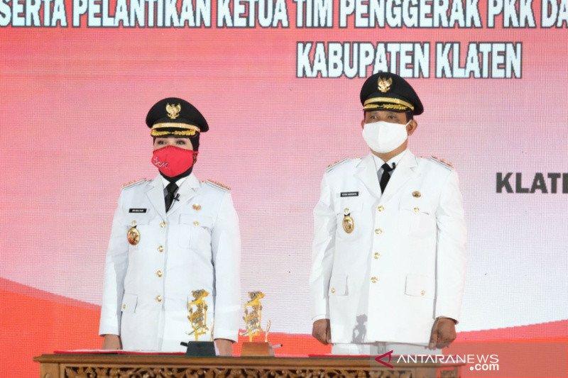 Usai dilantik, Bupati fokus pemulihan ekonomi Klaten