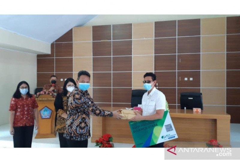 BPJAMSOSTEK Manado beri perlindungan ratusan sopir angkutan umun