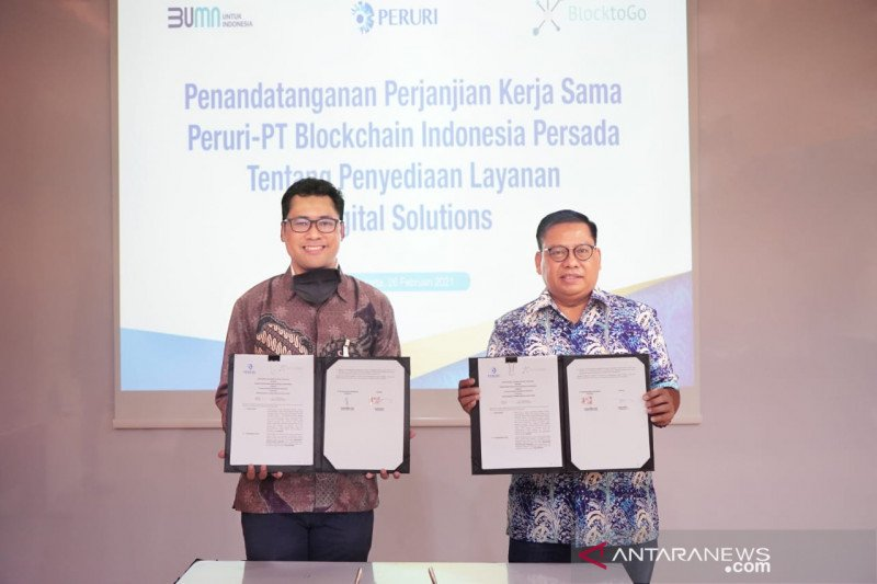 Peruri sediakan sertifikat digital dukung ekosistem blockchain Indonesia