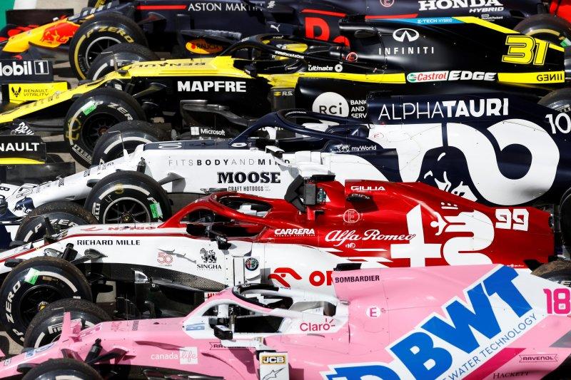 F1 catatkan penurunan pendapatan  di tahun 2020 yang terganjal pandemi
