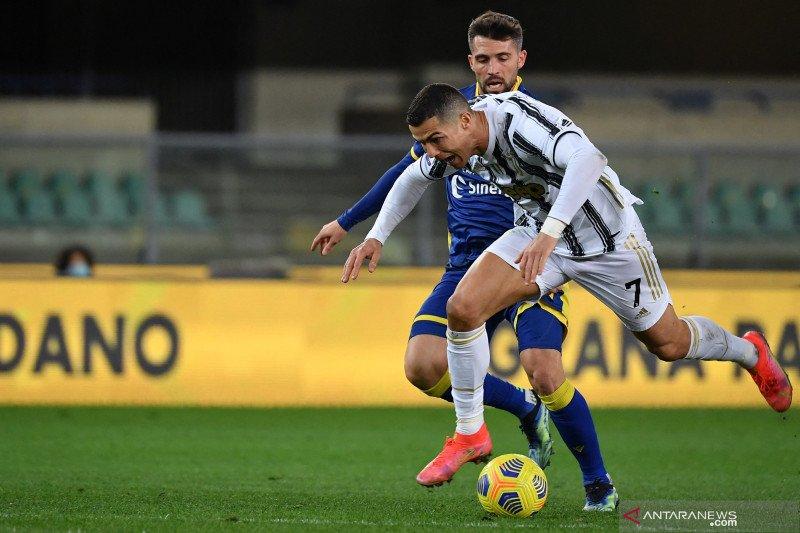 Juventus gagal bawa pulang poin dari kandang Verona