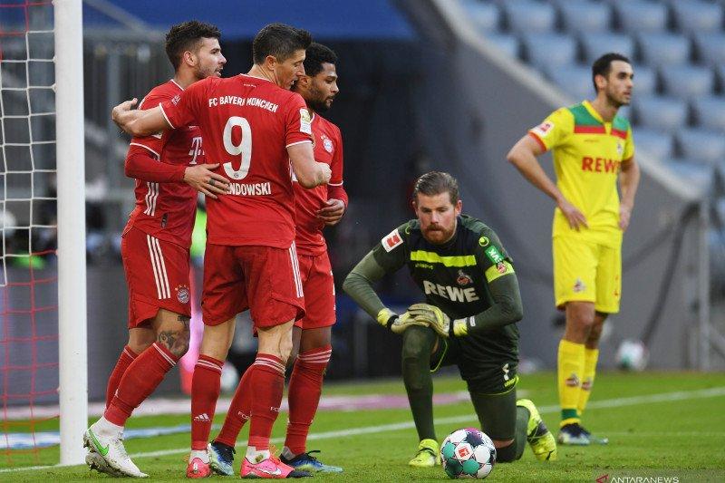 Bayern mengakhiri krisis kecil dengan menang besar 5-1 atas Cologne