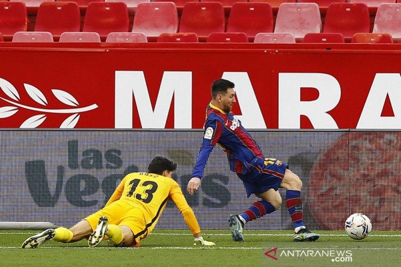 "Gol dan ""assist"" Lionel Messi menangkan Barcelona di Sevilla"