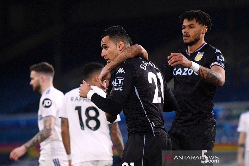 Aston Villa boyong tiga poin penuh dari markas Leeds United