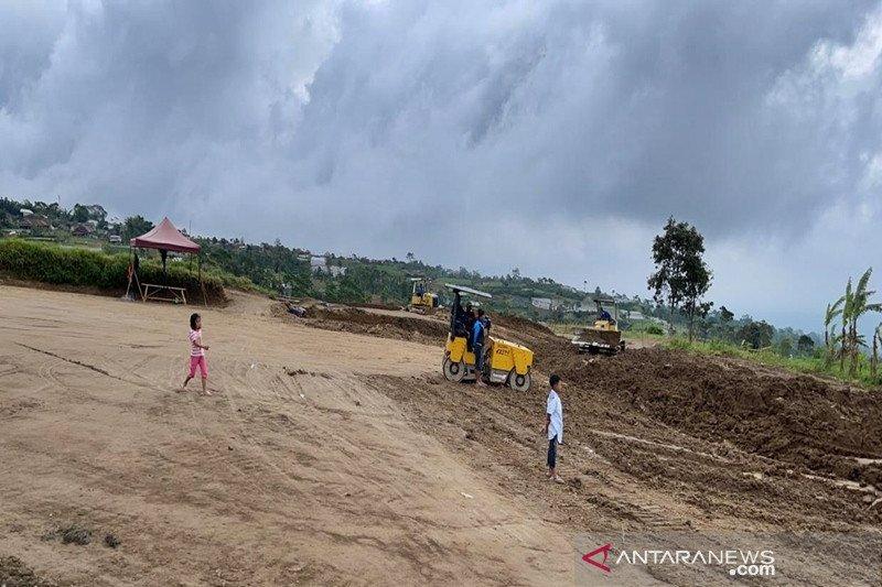 Pembangunan parkir di wisata Cepogo Cheese Park capai 70 persen