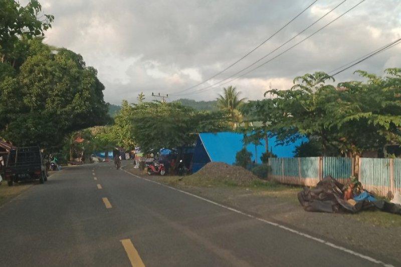 Pengungsi gempa Sulbar kembali ke Mamuju