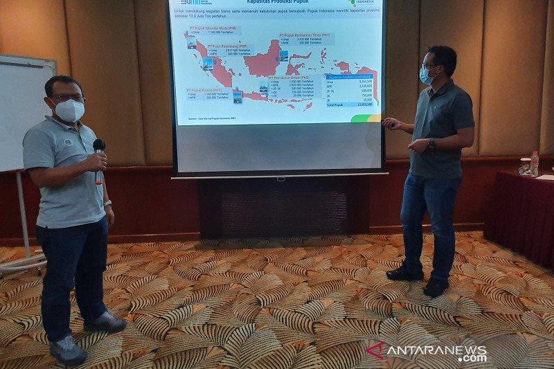 Pupuk Indonesia tambah stok pupuk bersubsidi di Jateng