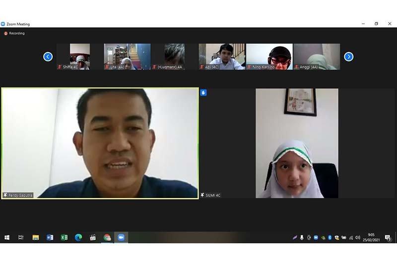 Kilang Pertamina Cilacap terima kunjungan siswa SD secara virtual