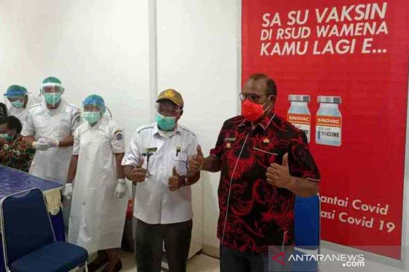 Warga minta pemkab Jayawijaya tangkal kabar buruk soal vaksin