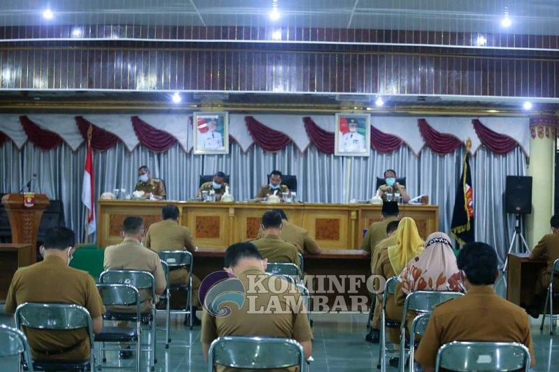 Sekda Lampung Barat pimpin rapat persiapan musrenbang tingkat kabupaten