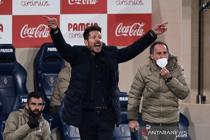 Diego Simeone: Atletico harus lebih baik jelang lawan Real Madrid