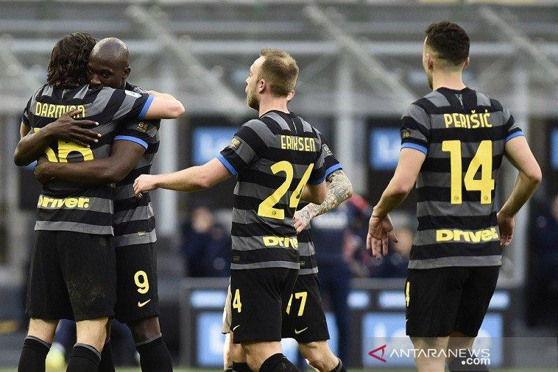 Klasemen Liga Italia: Inter semakin kuat mencengkeram di puncak