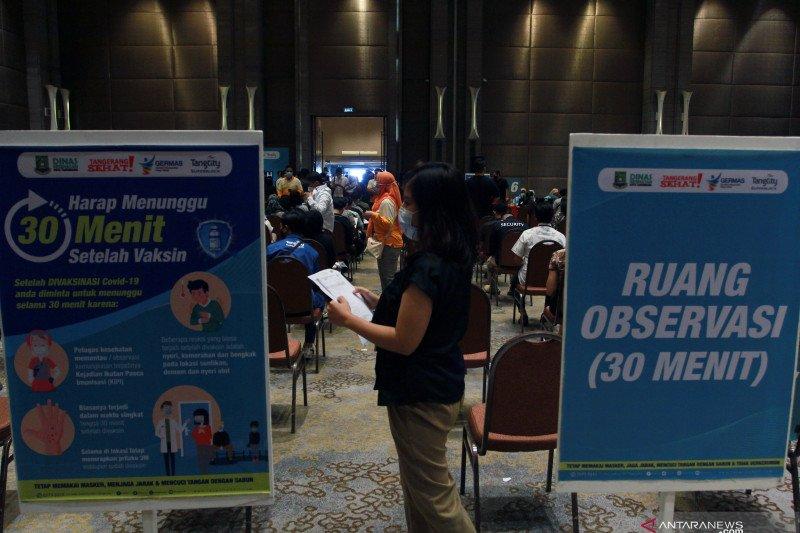 2.286.123 orang Indonesia telah divaksinasi