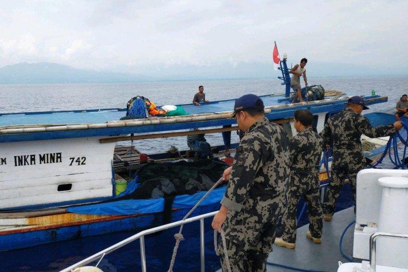 KKP amankan tiga kapal pelaku pelanggaran di Teluk Tolo Sulawesi Tengah