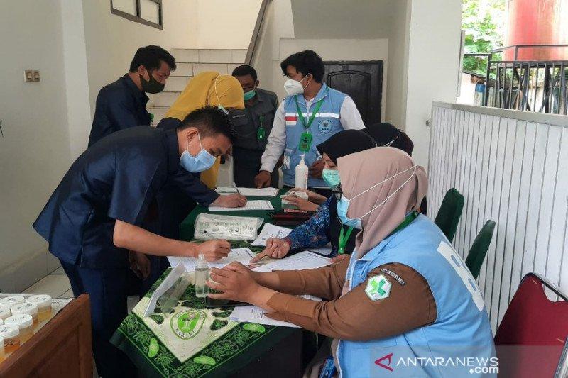 BNN Sultra tes urine 66 pegawai Pengadilan Negeri Kendari