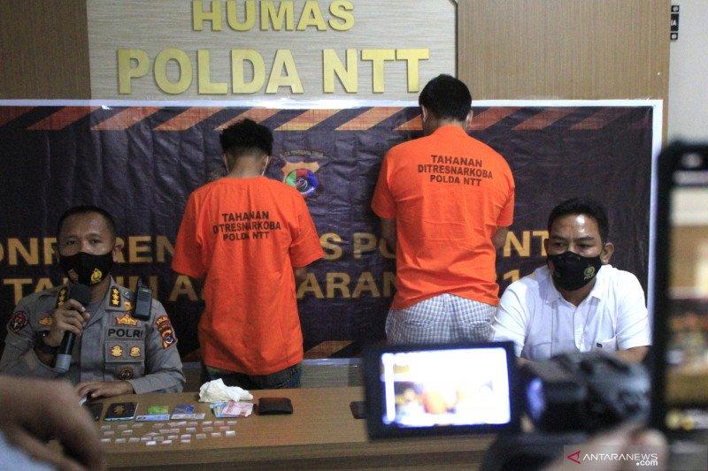 Polda NTT tangkap pengedar narkoba antar provinsi