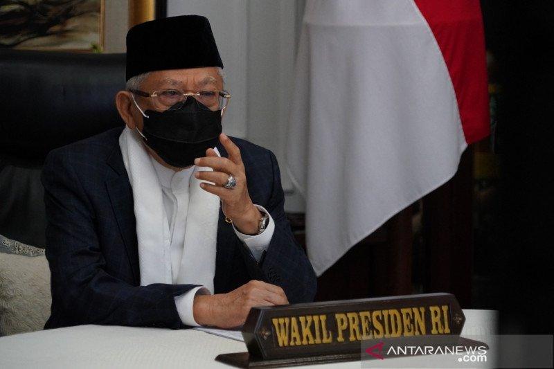 Wapres Ma'ruf Amin : Dakwah dan pendidikan Islam harus beradaptasi dengan teknologi