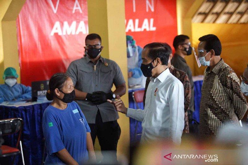 Presiden Jokowi berharap pariwisata Yogyakarta bangkit setelah vaksinasi
